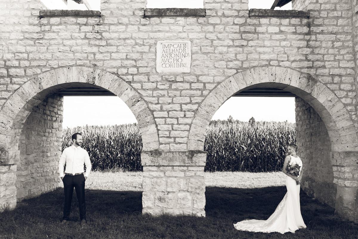 After Wedding Shooting Ingolstadt Sonnenuntergang Vintage0003