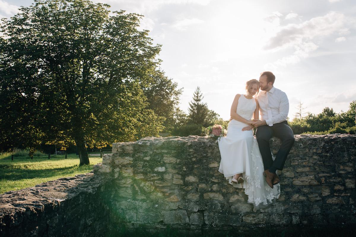 After Wedding Shooting Ingolstadt Sonnenuntergang Vintage0010