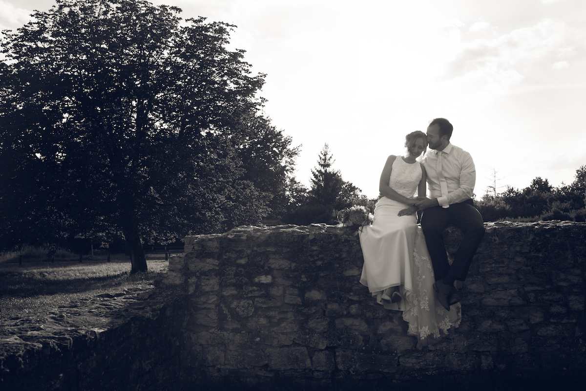 After Wedding Shooting Ingolstadt Sonnenuntergang Vintage0012