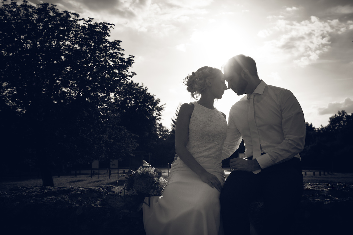 After Wedding Shooting Ingolstadt Sonnenuntergang Vintage0016
