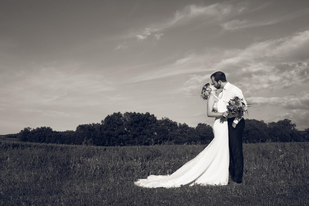 After Wedding Shooting Ingolstadt Sonnenuntergang Vintage0018