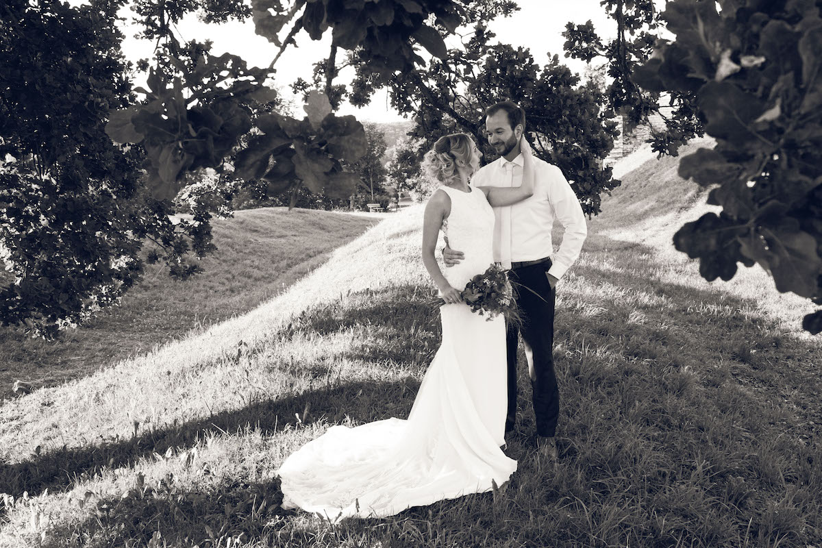After Wedding Shooting Ingolstadt Sonnenuntergang Vintage0032