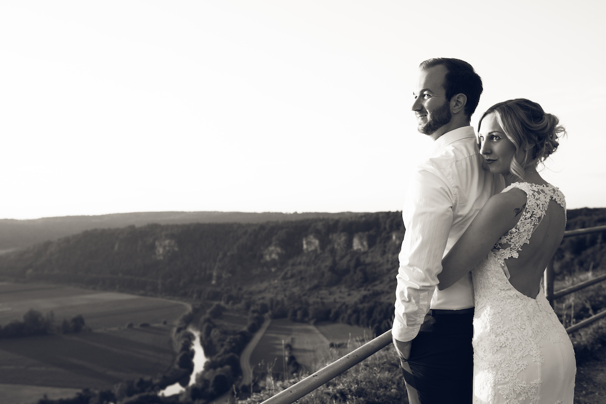 After Wedding Shooting Ingolstadt Sonnenuntergang Vintage0043