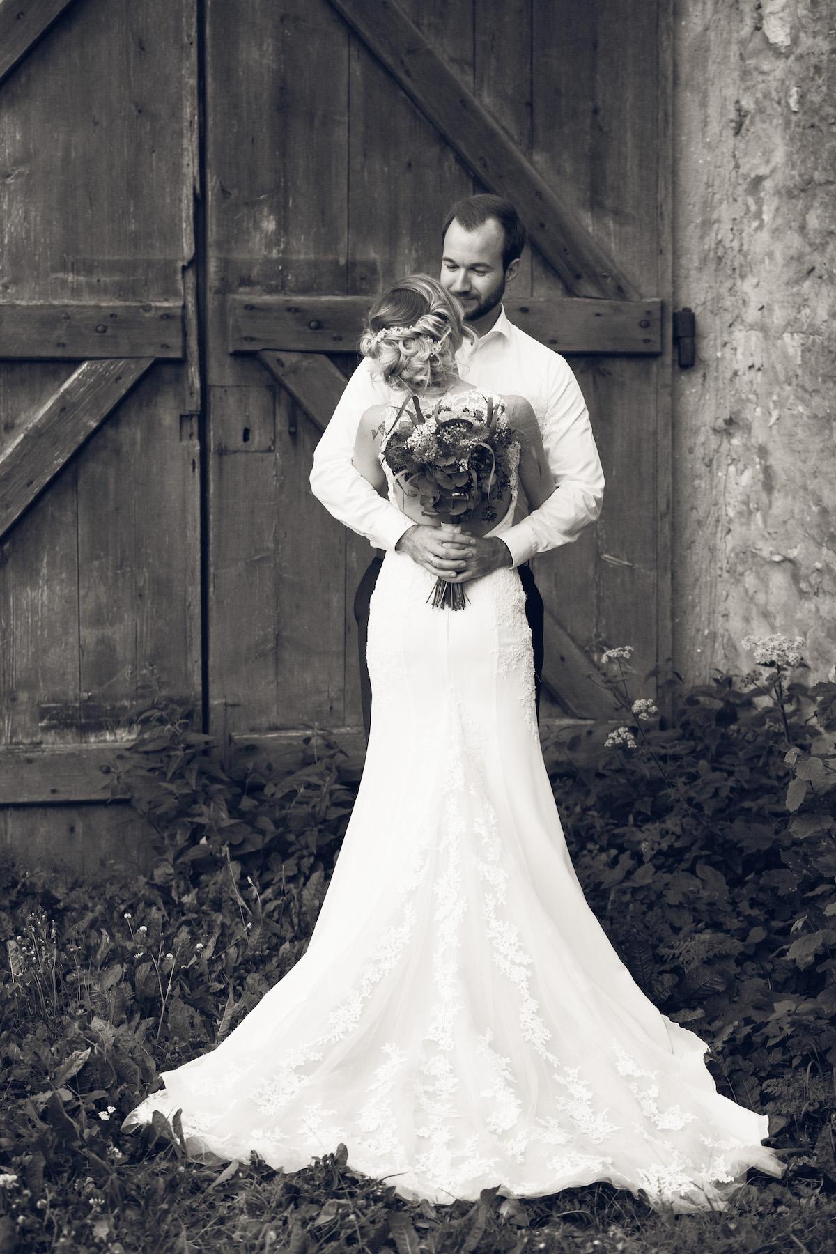 After Wedding Shooting Ingolstadt Sonnenuntergang Vintage0048